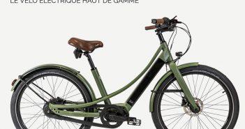 Velo electrique Reine Bike classic haut de gamme